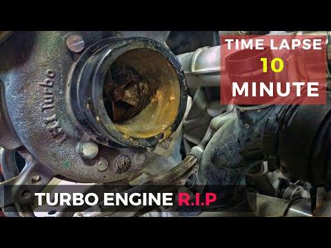 Двигатель после гидроудара - последствия, это надо видеть