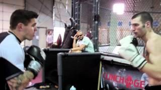 Chris Camozzi UFC on FX 4 Training Camp