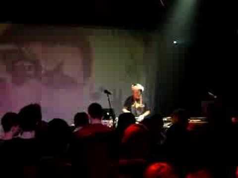 Dj Vadim live in Budapest, Hungary