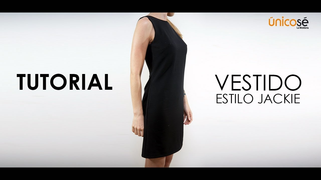 DIY Tutorial costura: Vestido estilo jackie. - YouTube