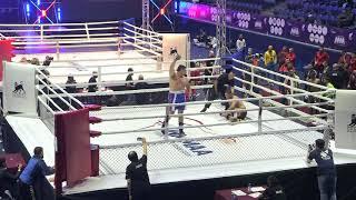 93+kg: Azamat Bahodurzoda (UZB) vs. Maksat Musabaev (KRG). 2017 World MMA Championships
