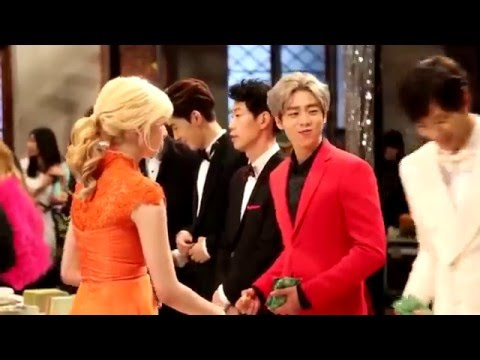 Moorim School - Party Filming - Cute Lee Hyunwoo (ft. Hongbin, Shannon, etc)