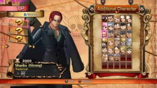 One Piece Burning Blood PC savegame all characters and supports