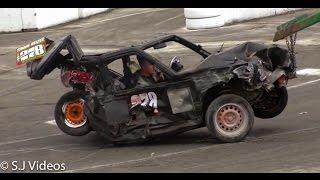 Best of 2016 Banger Racing Crashes