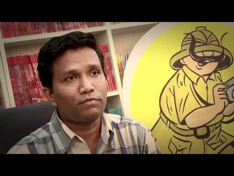 Career Chat - Comic Illustrator