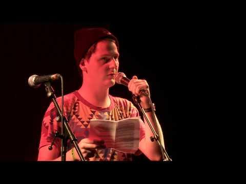 Marco Gurtner - Eröffnungsgala Poetry-Slam-Schweizermeisterschaft
