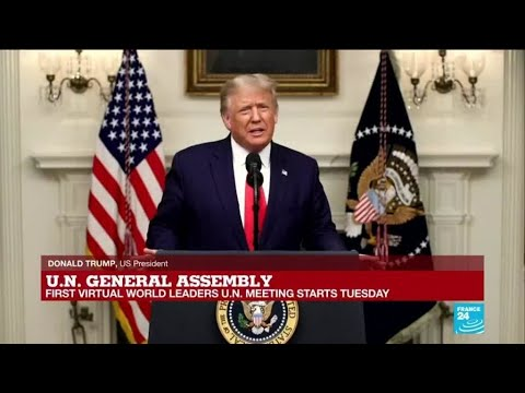 REPLAY: US President Donald Trump's speech at UN General Assembly