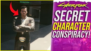 Cyberpunk 2077's SECRET Character - Mr Blue Eyes & His Dark Story Explained!