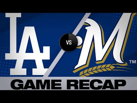 Hernandez's late homer lifts Dodgers to win - 4/19/19