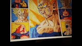All my Drawings of Vegeta [Dragon Ball Z] by TolgArt