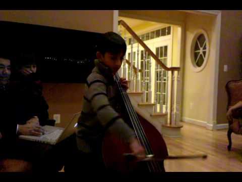 Jai bhatnagar bass play xmas 2009