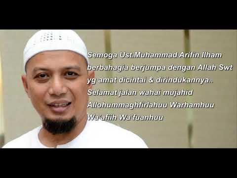 """"""" Jika Allah Memanggilku Bacakanlah Surah Al Fajr """" Pesan Terakhir Ustadz Arifin Ilham Sebelum Wafat"""