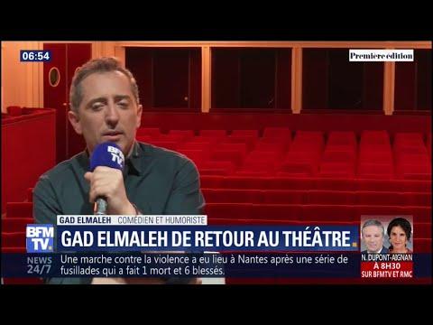 """Gad Elmaleh face aux accusations de plagiat: """"J'avance, c'est ça qui est important"""""""