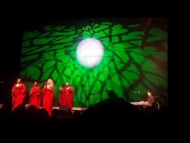 Ladies of Gospel, Nadia Straccia, Auditorium, Parco della musica , Rome