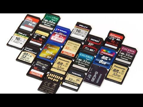 SDHC- und SDXC-Speicherkarten - Test und Kaufempfehlung 2014 [Deutsch]