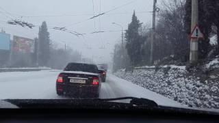 27 января ЮБК засыпало снегом