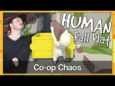 CO-OP CHAOS - Human: Fall Flat Gameplay