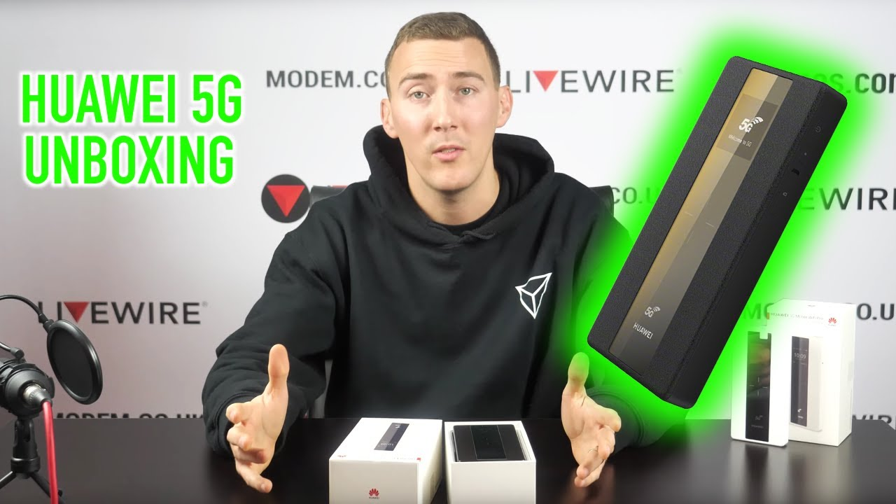 Huawei 5g Mobile Wifi Pro Unboxing Youtube