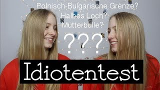 Idiotentest! Polnisch-Bulgarische Grenze? I Finja and Svea