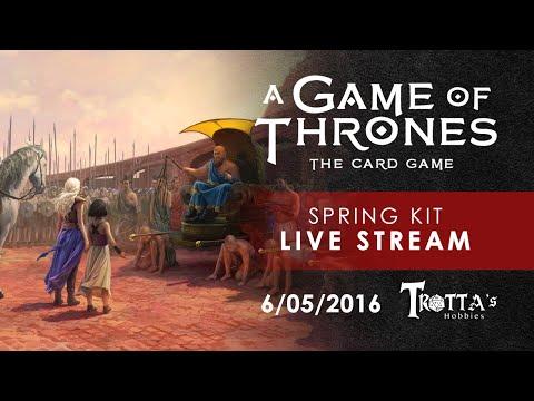 AGoT LCG: Trotta's Hobbies Spring Kit Tourney 6/05/16