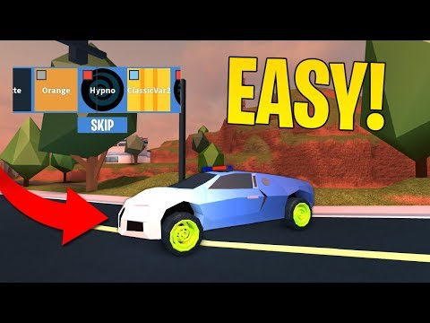 GET HYPNO RIMS IN 1 MINUTE! (Roblox Jailbreak)