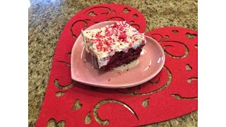 Red Velvet Poke Cake – Valentine's Day -  Lynn's Recipes