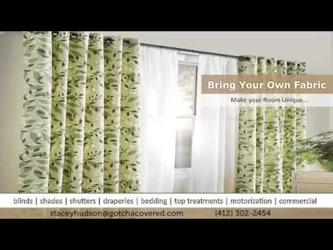 Custom Home Curtains Pittsburgh South | Stacey Hudson 412-302-2454