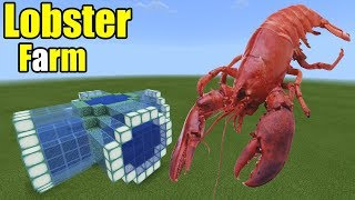 How to Make a Lobster Farm | Minecraft PE