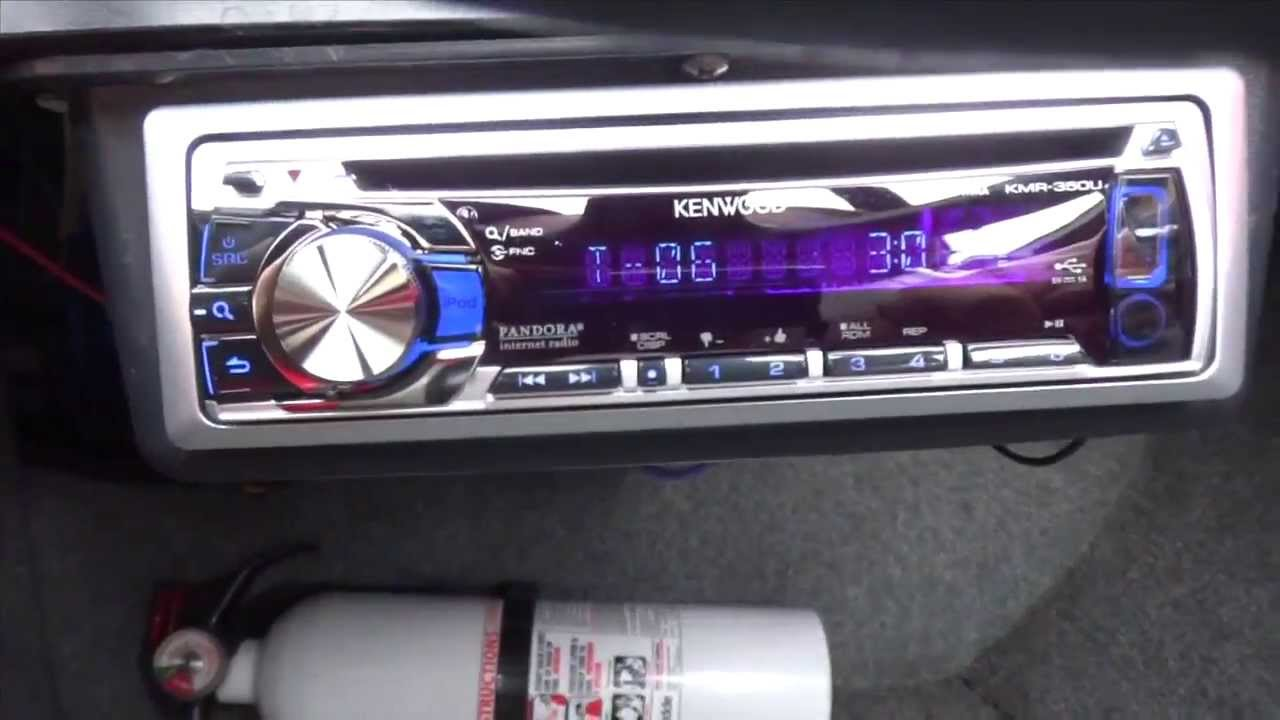 marine stereo shitshow install [ 1280 x 720 Pixel ]