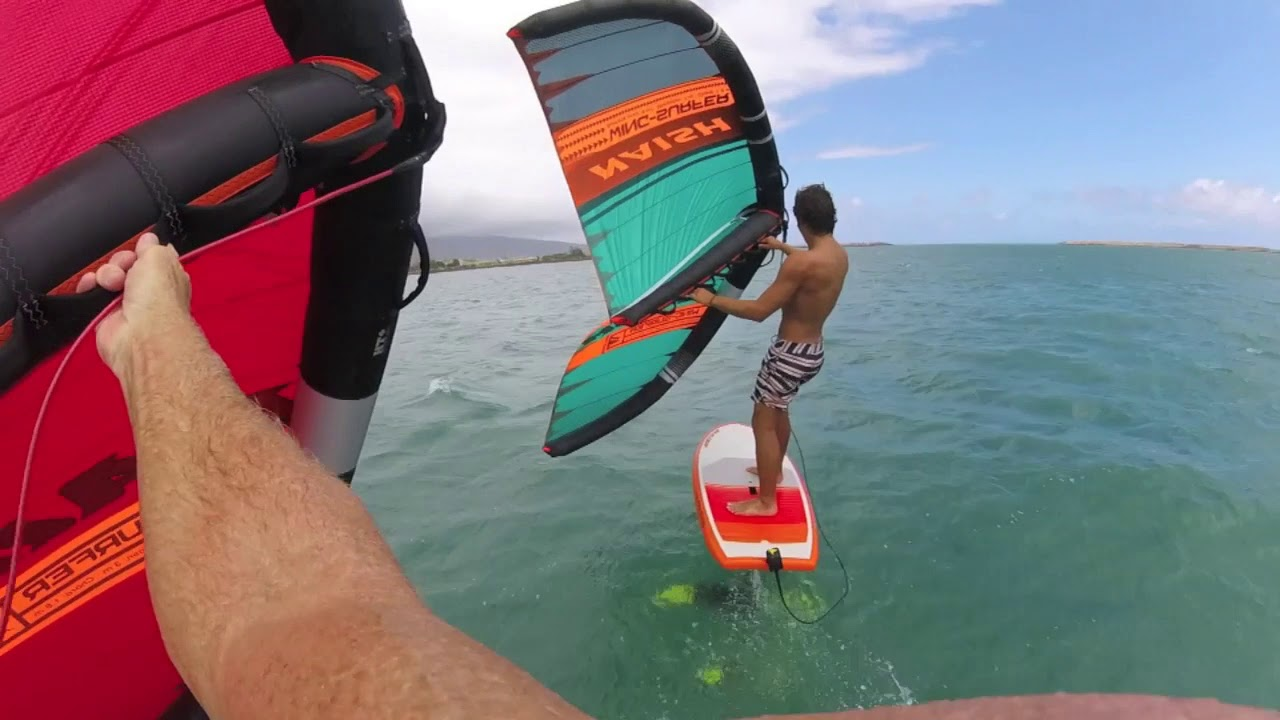 I Rode A Wing Surfer, Surf Wing, Foil Wing Thing | IKSURFMAG
