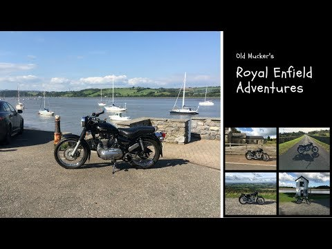 Few Pictures Of My Royal Enfield Electra Fitted With Highway Kit