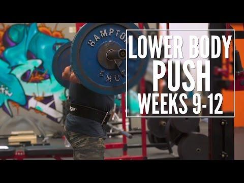 Train Like a Machine Weeks 9-12 Lower Body Push | Tiger Fitness