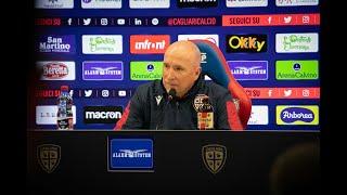 Cagliari-Parma, la conferenza stampa pre-gara