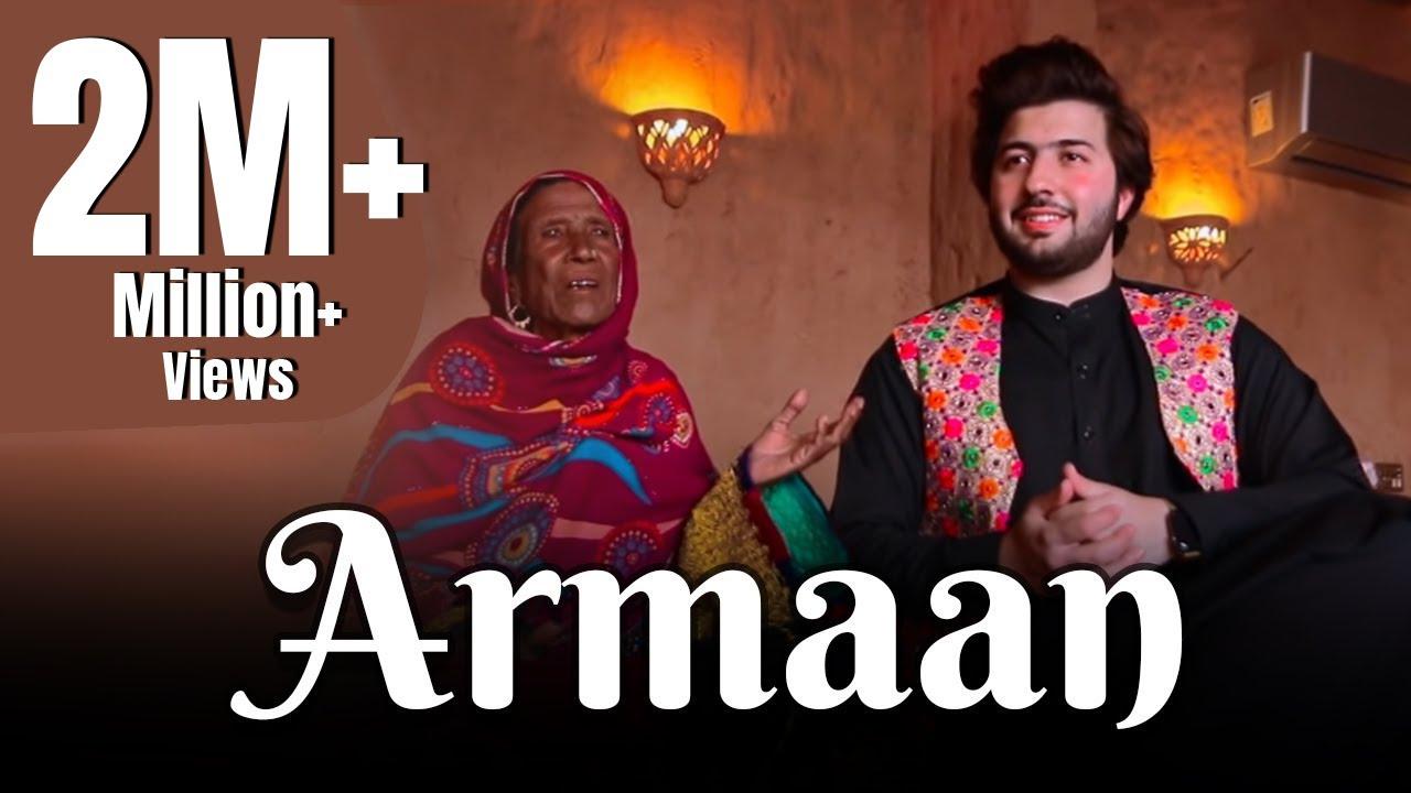 Download Faisal Salman Marwat & Madam Zarsanga   Song Arman   2021