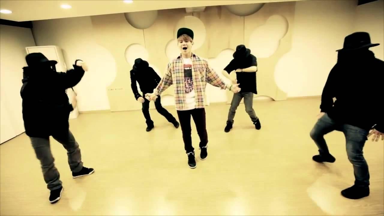 yang yoseob caffeine dance practice