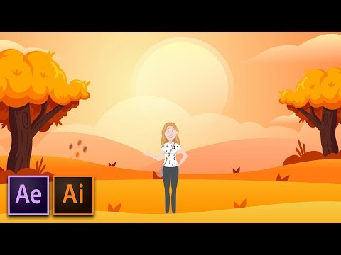 How To Create Cartoon Animation | After Effects & Illustrator Workflow Tutorial