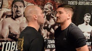 BRITISH TITLE CLASH - MATTY ASKIN v STEVE SIMMONS  - OFFICIAL HEAD TO HEAD / CAPITAL COLLISION