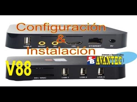 Configurar e instalar cualquier Tv Box Android, probando con V88 [AvanTec Perú]