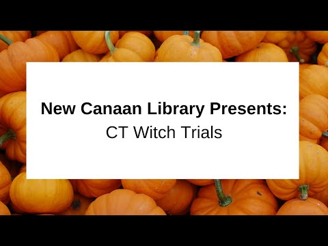 CT Witch Trials October 29 2015