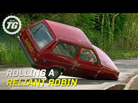 Thumbnail: Rolling a Reliant Robin - Top Gear - BBC
