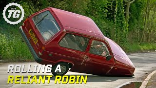 Rolling a Reliant Robin - Top Gear - BBC(Jeremy takes the extreme sport of Reliant Robin rolling to the streets of Barnsley, aided by a string of celebrities who just happen to be on hand to help keep the ..., 2010-11-26T10:34:04.000Z)