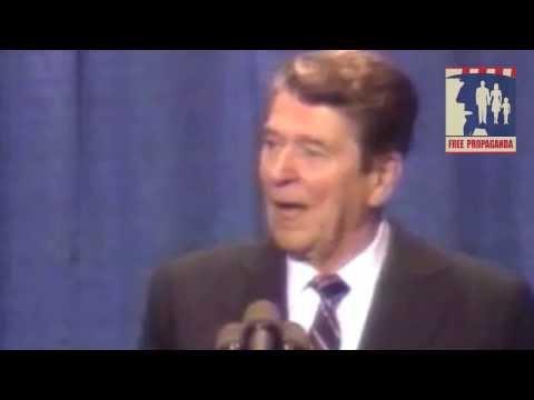 Reagan tells a joke about Gorbachev