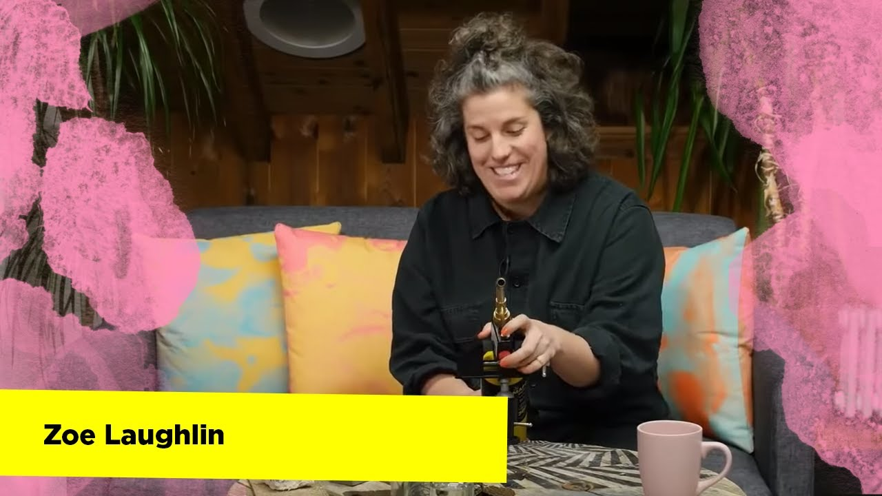 DIF: The magic of materials and making with Zoe Laughlin