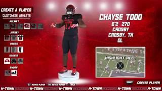 Houston Football: 2019 NSD: Chayse Todd