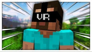 Minecraft but it's a poorly made VR Experience