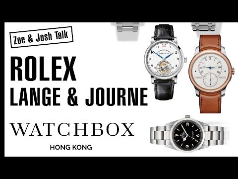 A Peek Into the WatchBox Hong Kong Vault with Zoe and Josh!