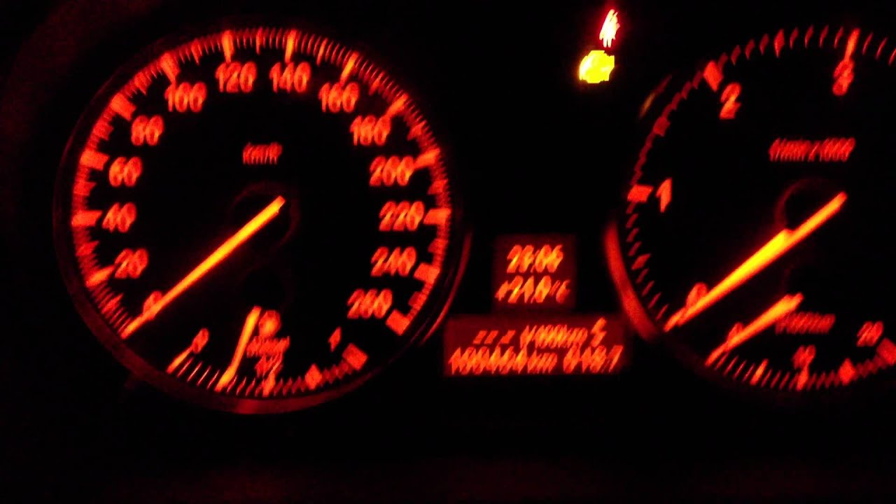 Bmw E90 All Warning Lights >> Wypalanie DPF cz1 - YouTube