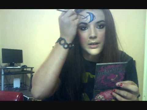 House Of Night Vampyre Makeup Tutorial Youtube