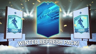 THIS IS WHAT I GOT IN 20X GUARANTEED WINTER REFRESH PACKS! #FIFA20 ULTIMATE TEAM