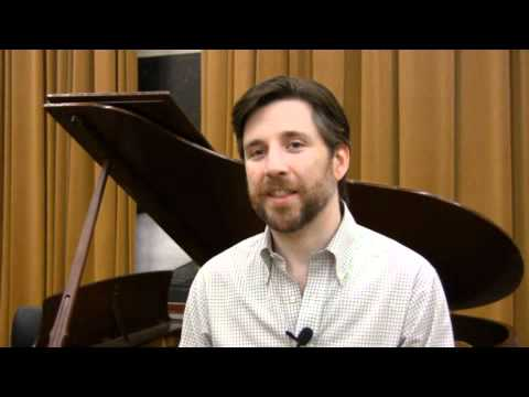 Interview with tenor William Ferguson in PSO's staged production of Handel's Messiah